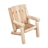 Rustic Cedar CHAIR, JUNIOR LOG STYLE