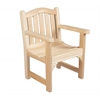 Rustic Cedar CHAIR, CAMEL BACK