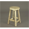 "Rustic Cedar 24"" Bar Stool (1 / Box)"