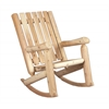 "Rustic Cedar CHAIR, ROCKER 28"" BACK"
