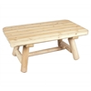 Rustic Cedar TABLE, RECTANGULAR COFFEE 42""
