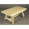"Rustic Cedar 42"" Rectangular Coffee Table - 2016 Design"