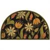 """Apache Mills Floral 1/2 Round 18"""" x 30' Mat"""