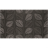 "Retro Leaf Gray 18"" x 30' Mat"