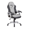 Techni Mobili High Back Executive Sport Race Office Chair. Color: Black & Grey