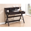 Techni Mobili Writing Desk with Storage. Color: Wenge