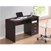 Techni Mobili Classic Computer Desk with Multiple Drawers. Color: Wenge