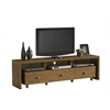 "Elegant TV Stand For TV's Up To 70"" with Storage. Color: Walnut"