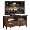 "Techni Mobili Elegant TV Stand with Storage For TVs Up To 55"". Color: Hickory"