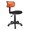 Techni Mobili Student Mesh Task Office Chair. Color: Orange