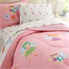 Wildkin Olive Kids Fairy Princess Twin Comforter Set