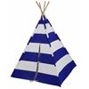 Wildkin Blue & White Striped Canvas Teepee
