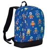 Wildkin Olive Kids Robots Sidekick Backpack