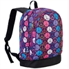 Wildkin Peace Signs Purple Sidekick Backpack