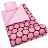 Wildkin Big Dot Pink Sleeping Bag