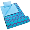 Wildkin Big Dot Aqua Sleeping Bag