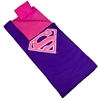 Wildkin Superman Pink Shield Sleeping Bag