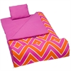 Wildkin Zigzag Pink Original Sleeping Bag