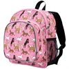 Wildkin Horses in Pink Pack 'n Snack Backpack