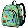 Wildkin Olive Kids Wild Animals Pack 'n Snack Backpack