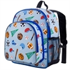 Wildkin Olive Kids Game On Pack 'n Snack Backpack