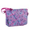 Wildkin Watercolor Ponies Pink Kickstart Messenger Bag