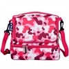 Camo Pink Double Decker Lunch Bag