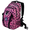 Wildkin Pink Leopard Serious Backpack