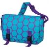 Big Dot Aqua Jumpstart Messenger Bag