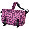 Pink Leopard Jumpstart Messenger Bag