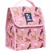 Horses in Pink Munch 'n Lunch Bag