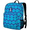 Wildkin Big Dot Aqua Crackerjack Backpack
