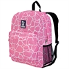 Wildkin Pink Giraffe Crackerjack Backpack