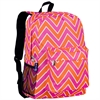 Wildkin Zigzag Pink Crackerjack Backpack
