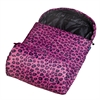 Wildkin Pink Leopard Stay Warm Sleeping Bag