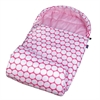 Wildkin Big Dot Pink & White Stay Warm Sleeping Bag