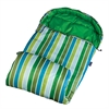 Cool Stripes Stay Warm Sleeping Bag