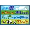 Wildkin Olive Kids Endangered Animals 39x58 Rug