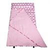 Big Dot Pink & White Easy Clean Nap Mat