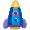 Wildkin Olive Kids Rocket Plush Pillow