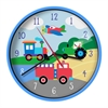 Olive Kids Trains, Planes, Trucks Wall Clock