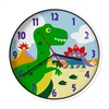 Wildkin Olive Kids Dinosaur Land Wall Clock