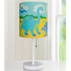 Wildkin Olive Kids Dinosaur Land Cylinder Lamp