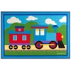 Wildkin Olive Kids Trains, Planes, Trucks 31.5x45 in. Rug