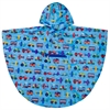 Wildkin Olive Kids Trains, Planes & Trucks Poncho (4-7)