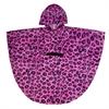 Wildkin Pink Leopard Poncho (4-7)
