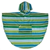 Wildkin Cool Stripes Poncho (4-7)