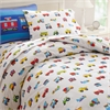 Wildkin Olive Kids Trains, Planes, Trucks Twin Duvet Cover