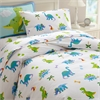 Wildkin Olive Kids Dinosaur Land Twin Duvet Cover