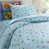 Wildkin Olive Kids Game On Twin Duvet Cover